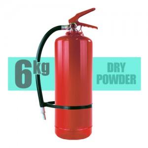 FireExtinguisher Powder 6kg 300x300 - کپسول آتش نشانی 6 کیلو گرمی پودر و گاز