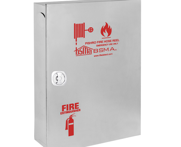 stainless steel fire hose box