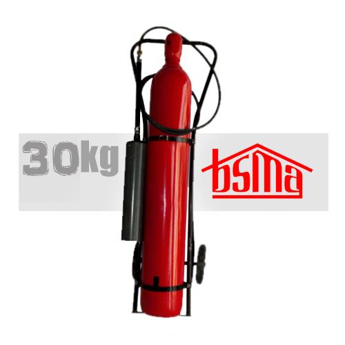 کپسول آتش نشانی دی اکسید کربن 30 کیلوگرم
