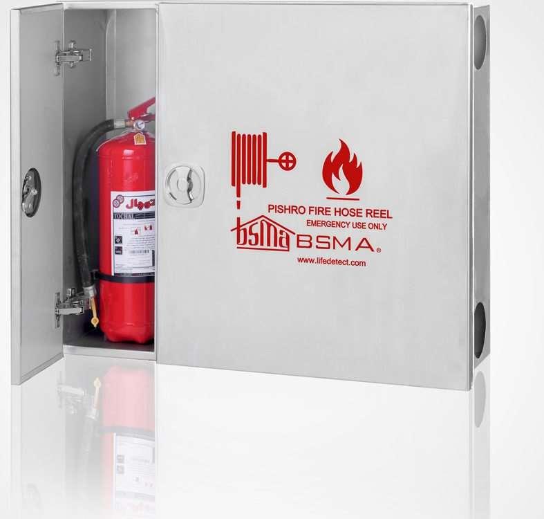 جعبه آتش نشانی استیل