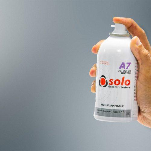 Solo A7 Application 1920x1200 500x500 - اسپري تميز كننده ديتكتور دودي Solo A7