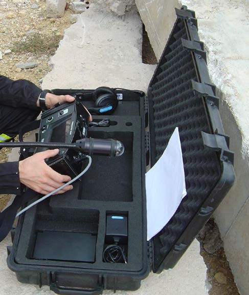 دستگاه زنده یاب تصویری و صوتی ویبرا اسکوپ