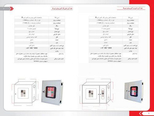 مشخصات جعبه آتش نشانی A