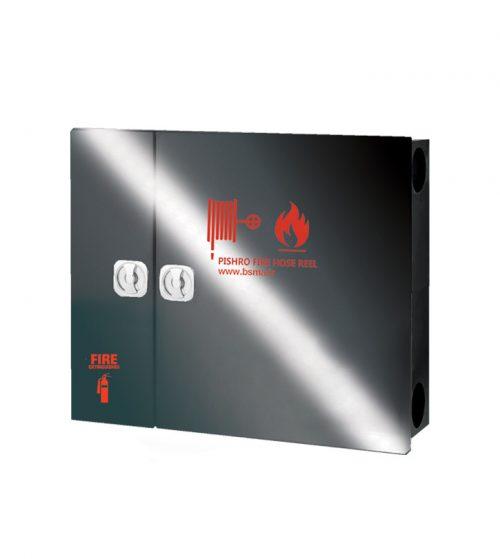 جعبه آتش نشانی درب استیل دودی دو کابین پیشرو