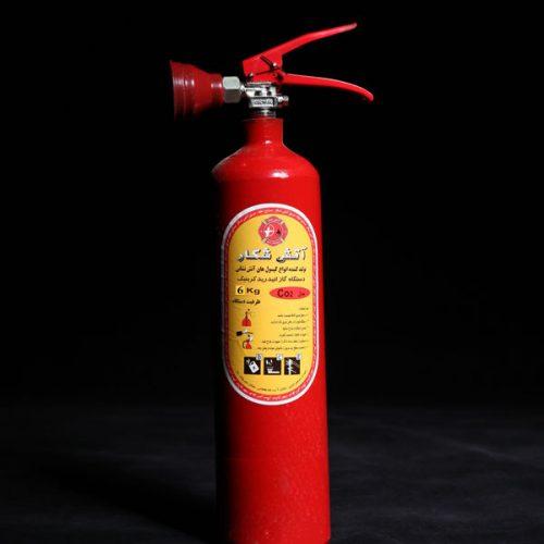 کپسول آتش نشانی دی اکسید کربن ۶ کیلو گرم (آتش شکار)