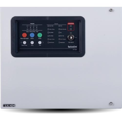 کنترل پنل اعلام حریق متعارف 4 زون مدل TFP -404